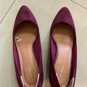 Burgundy pumps/heels